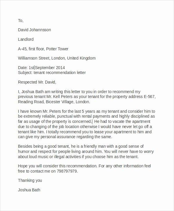 Recommendation Letter for Fellowship Fresh 8 Re Mendation Letter Samples