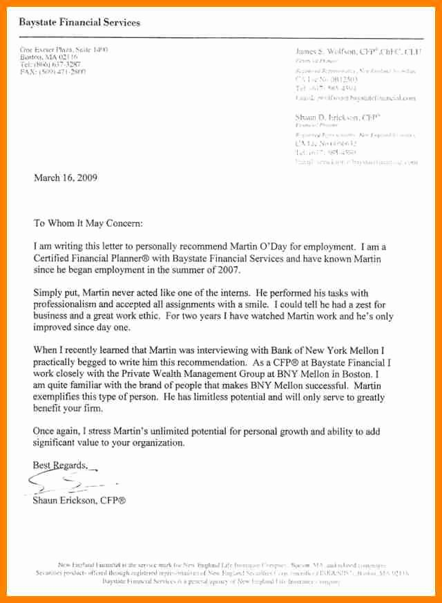 Recommendation Letter for Honor society Elegant 8 National Honor society Letter Of Re Mendation