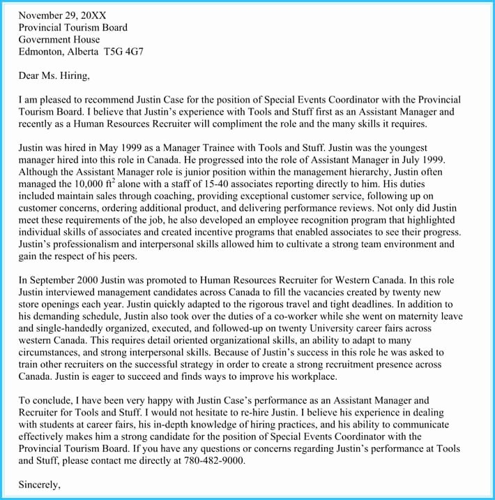 Recommendation Letter for Immigration Unique Immigration Reference Letters 6 Samples & Templates