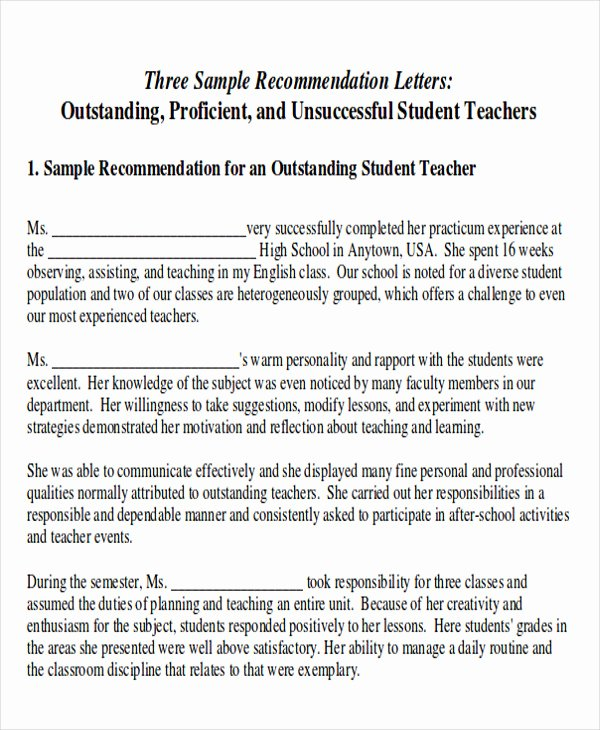Recommendation Letter for Internship Inspirational 8 Sample Internship Re Mendation Letters