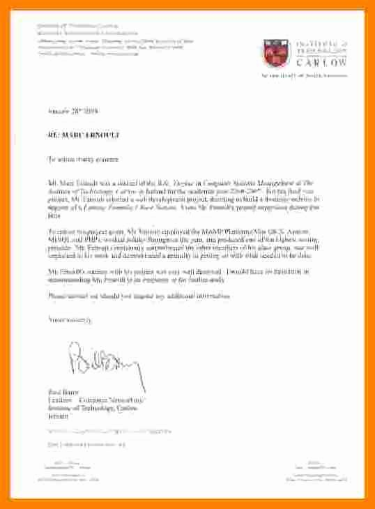 Recommendation Letter for Lawyer Luxury 9 Letter Of Re Mendation Letterhead