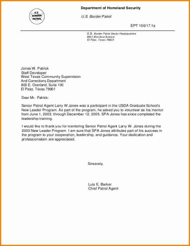 Recommendation Letter for Leadership Program Inspirational 5 Letter Of Re Mendation for Leadership Program