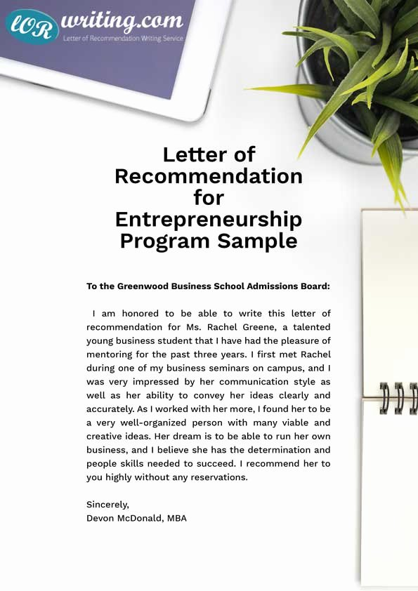 Recommendation Letter for Mba Program Best Of Professional Sample Mba Re Mendation Letter