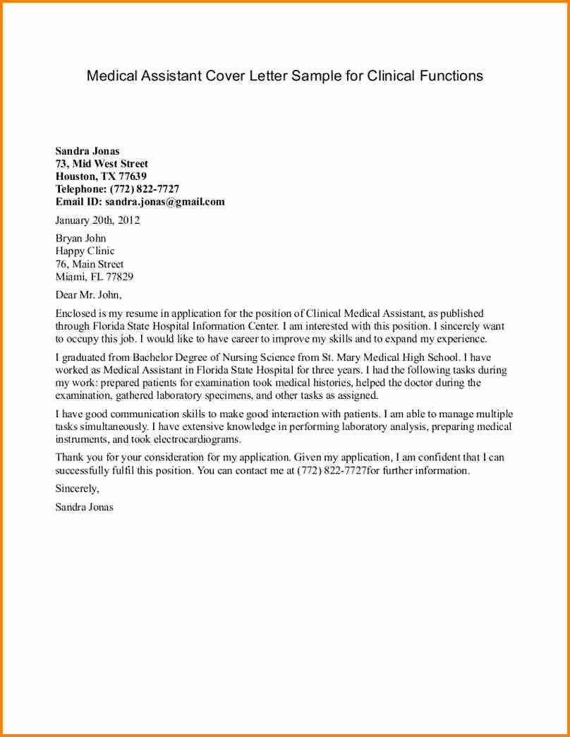 Recommendation Letter for Medical assistant Fresh 9 Letter Of Re Mendation for Research assistant