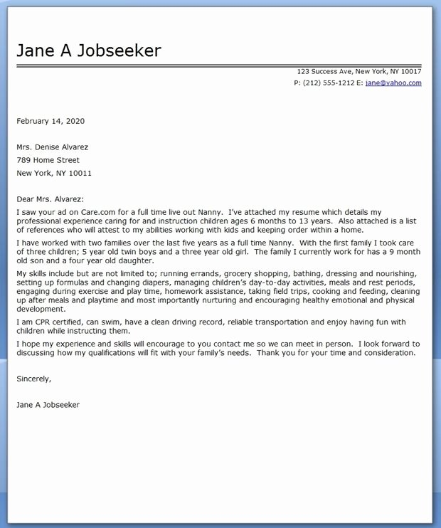 Recommendation Letter for Nanny Beautiful 17 Images About Pharmacy Tech On Pinterest