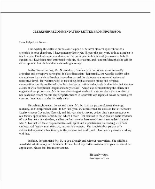 Recommendation Letter for Phd Admission Unique Sample Reference Letter for Phd Application