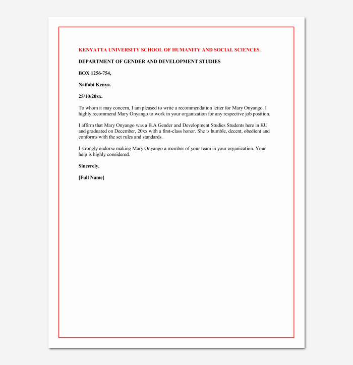 Recommendation Letter for Phd Awesome Letter Of Re Mendation for A Graduate School 5 Sample
