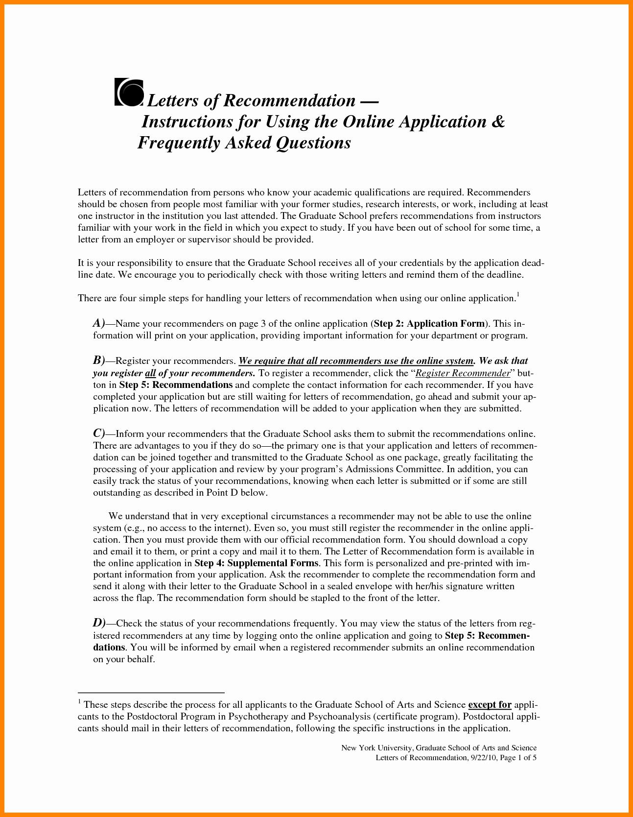 Recommendation Letter for Phd New 8 Re Mendation Letter for Phd Application Sample