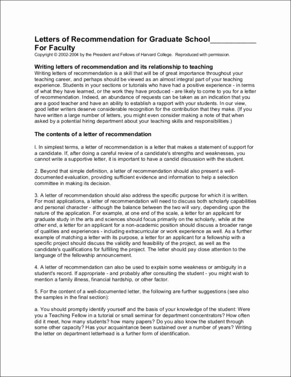 Recommendation Letter for Phd New Sample Re Mendation Letters for Students and Job Seekers