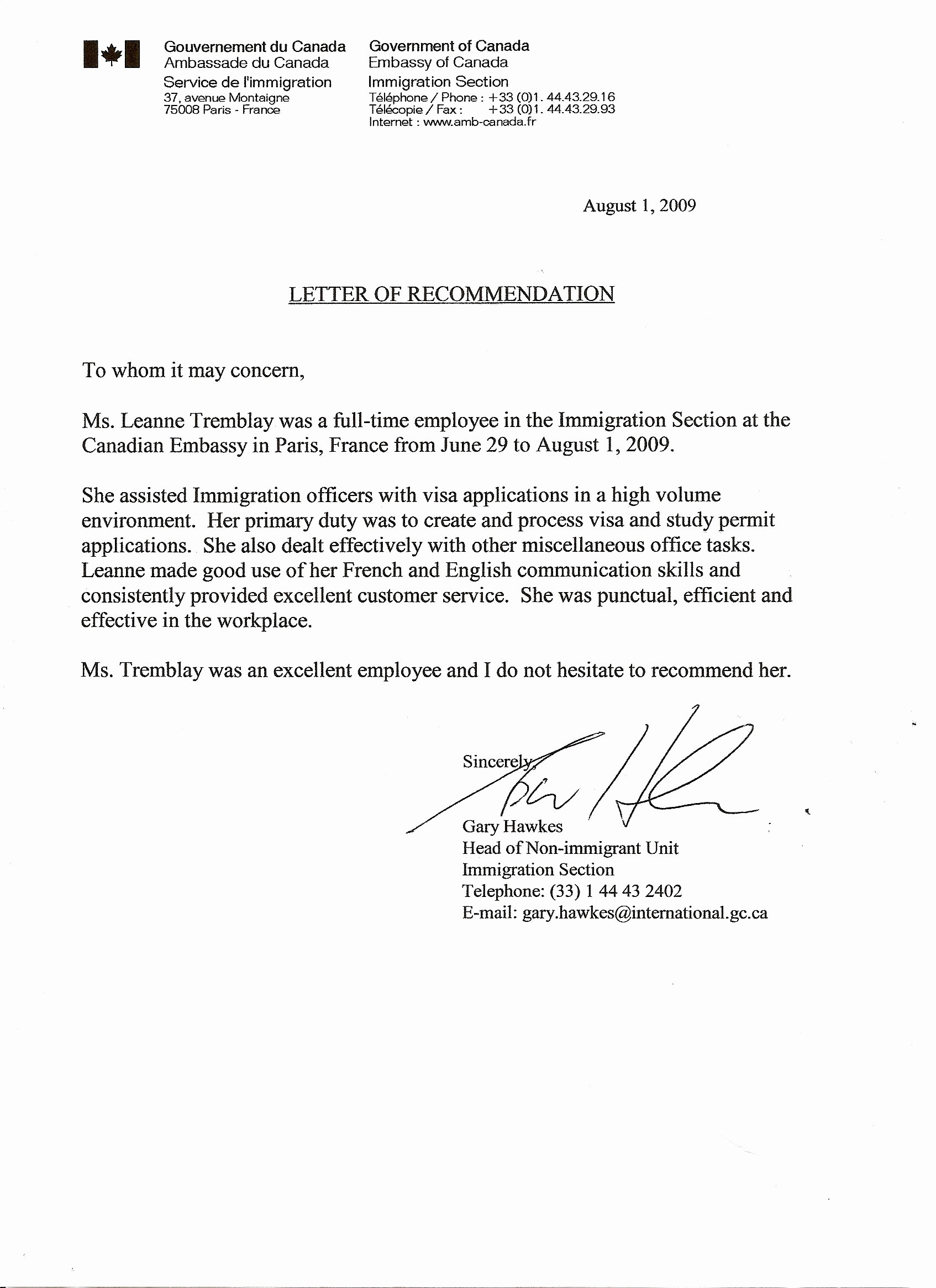 Recommendation Letter for Postdoc Inspirational Reference Letters