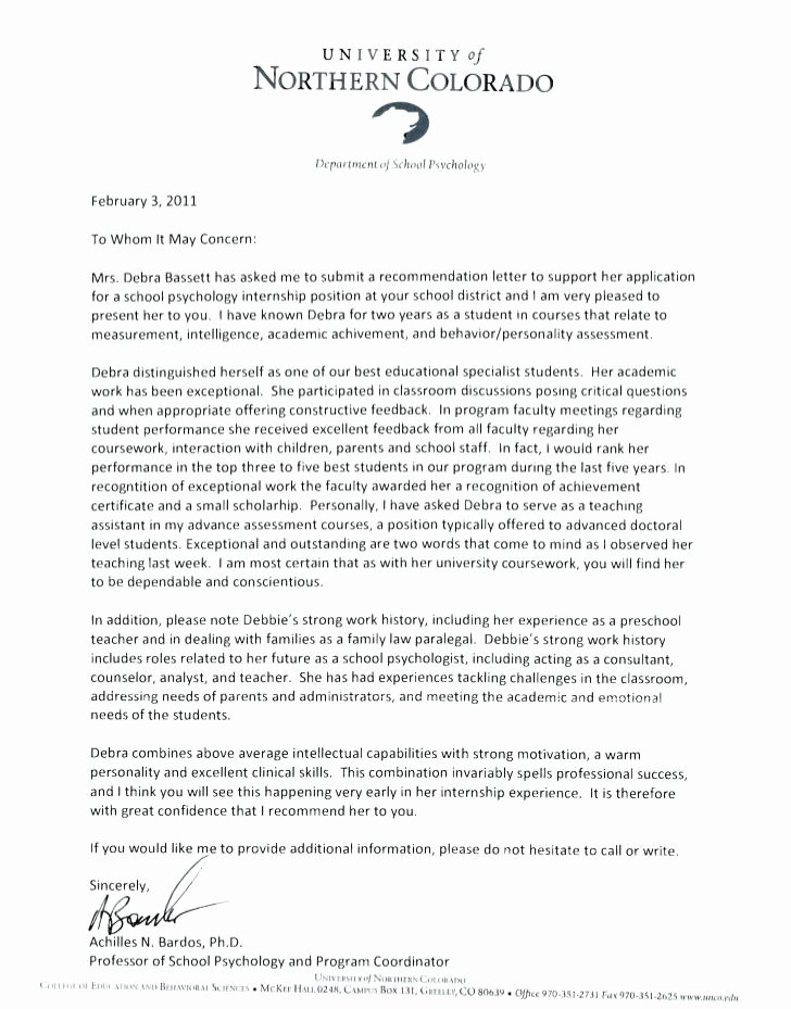 Recommendation Letter for Postdoc Luxury Cover Letter for Postdoc Position Sample Re Mendation
