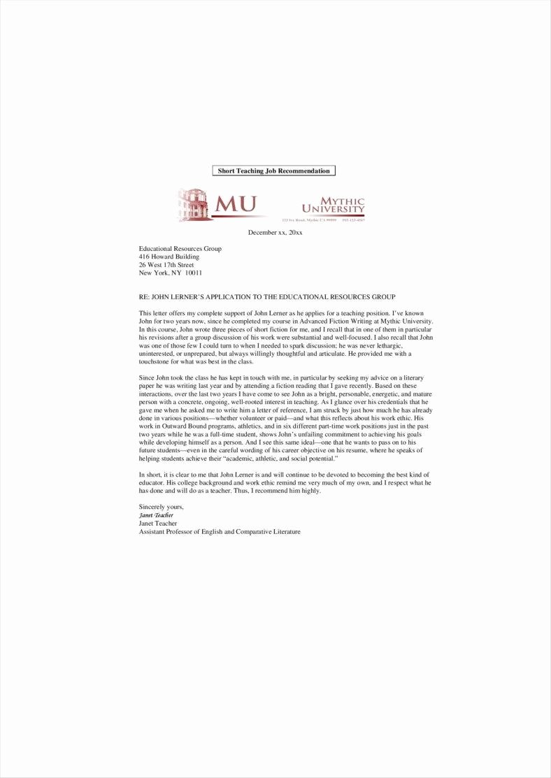 Recommendation Letter for Professor Promotion Beautiful 14 Promotion Letters Free Word Pdf Excel format