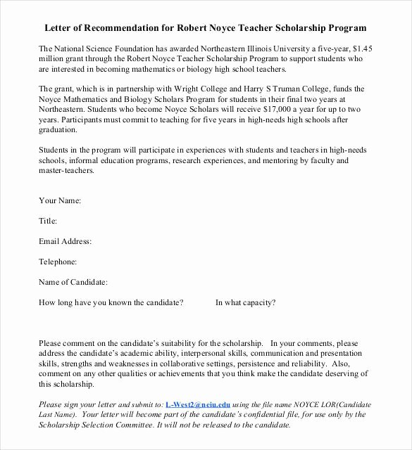 Recommendation Letter for Research Luxury 27 Letters Of Re Mendation for Scholarship Pdf Doc
