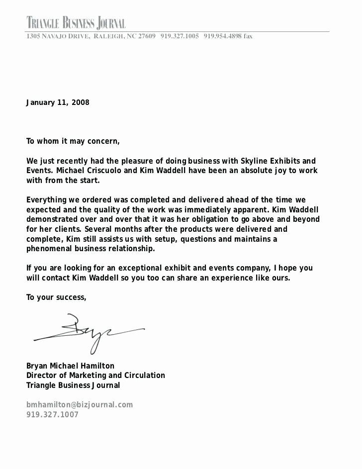 Recommendation Letter for Services Provided Luxury Service Confirmation Letter – Rightarrow Template Database