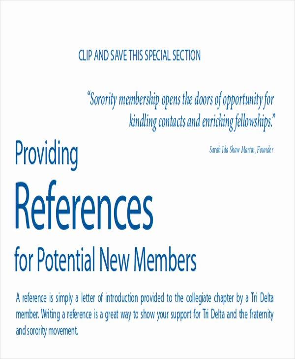 Recommendation Letter for sorority Fresh 6 Sample sorority Re Mendation Letters