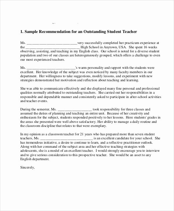 Recommendation Letter for Teacher Colleague New Sample Reference Letter for Coworker Examples In Pdf Word