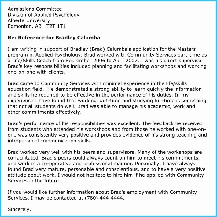 Recommendation Letter for Tutor Luxury Writing A Reference Letter for Teacher 6 Sample Letters