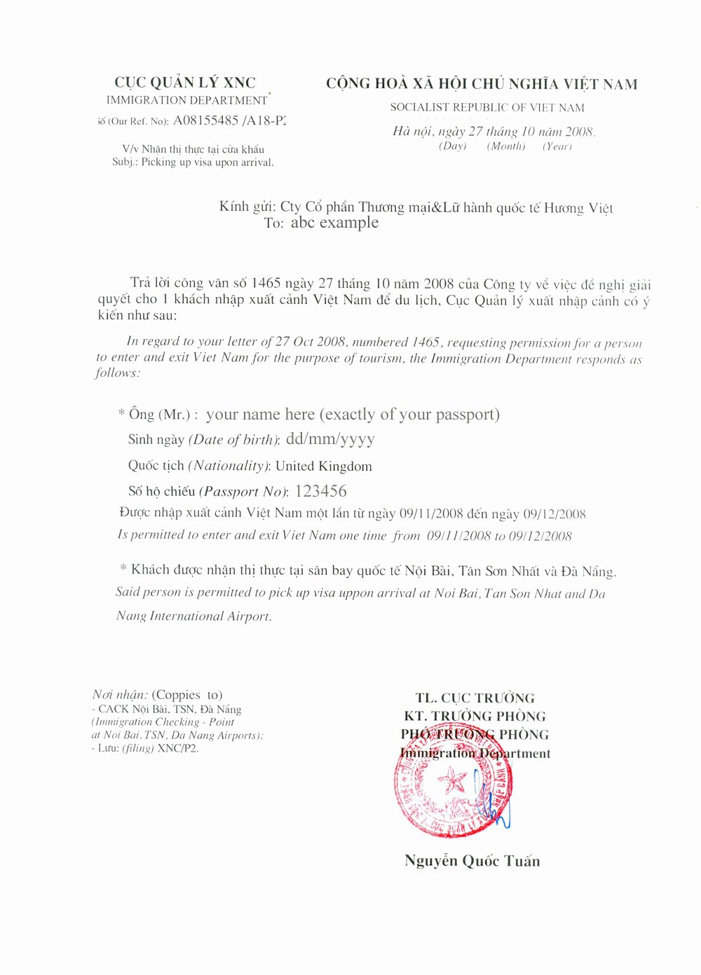Recommendation Letter for Visa Beautiful Letter Re Mendation for Visa Application Sample
