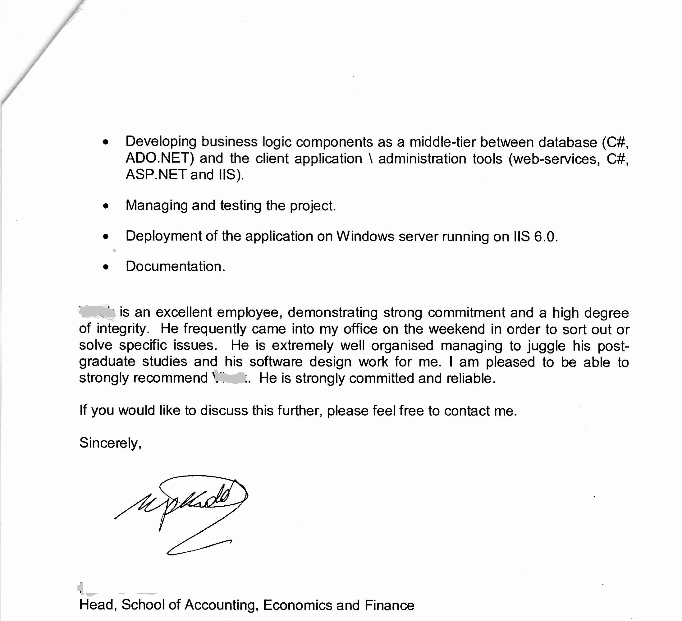 Recommendation Letter for Visa Best Of Acs assessment British Expats