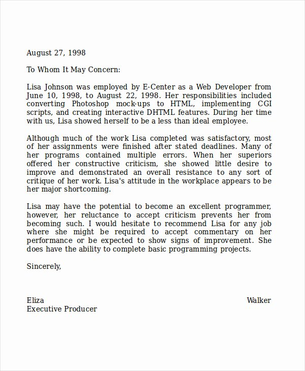 Recommendation Letter Sample for Teacher Inspirational 14 Coworker Reference Letter Examples