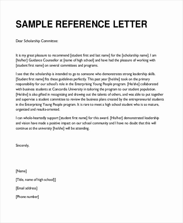 Recommendation Letter Sample Pdf Beautiful Sample Teacher Re Mendation Letter 8 Free Documents