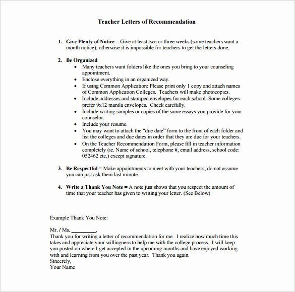 Recommendation Letter Thank You Awesome 8 Thank You Letter for Re Mendation Pdf Doc
