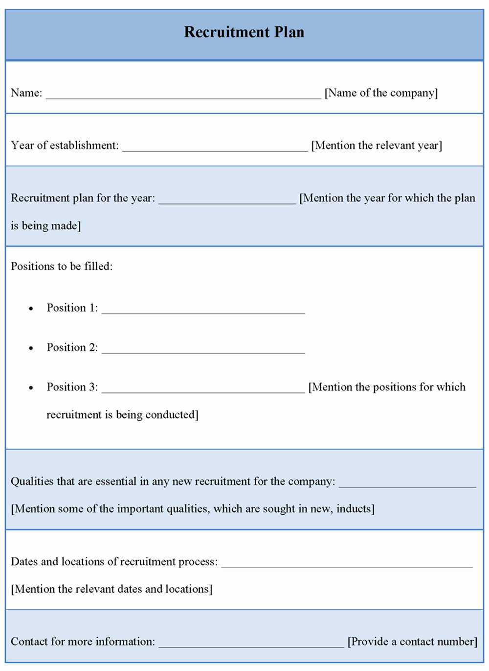 Recruitment Action Plan Template Beautiful Recruitment Plan Template