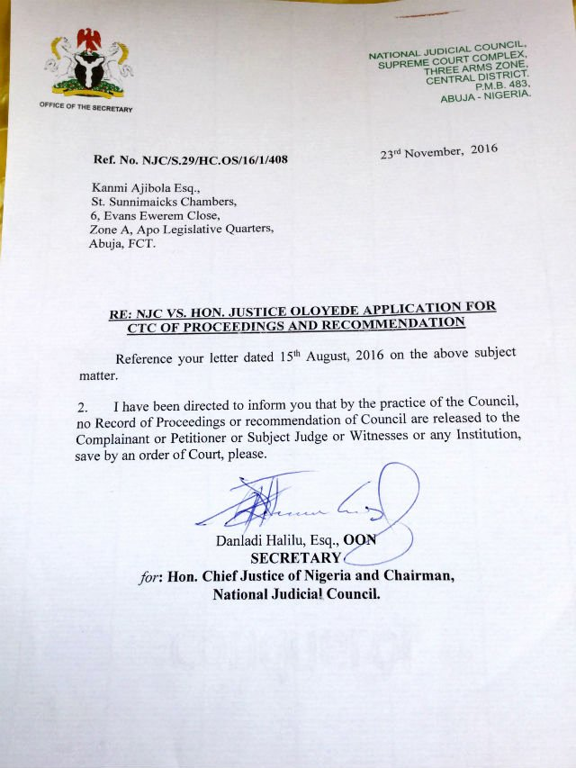Reference Letter Vs Recommendation Letter Unique Osun Judge Saga Cjn Urges Csceos to Drag National