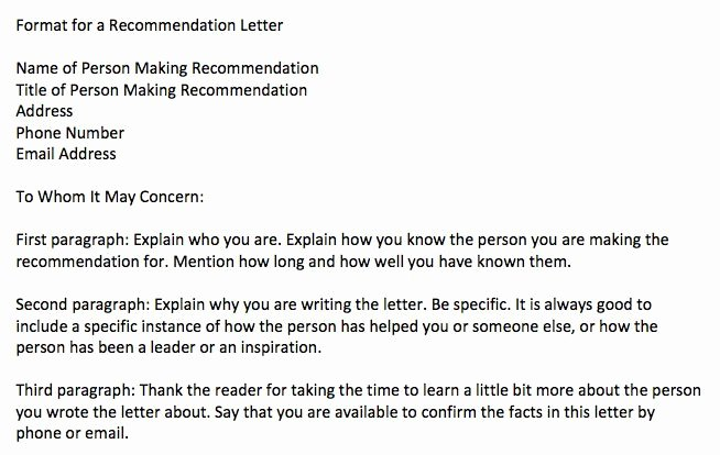 References Vs Letter Of Recommendation Awesome Character Letter for A Judge 9 Essential Tips for An