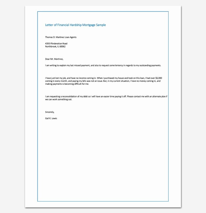 Refinance Letter Template Elegant 48 Best Letter Templates Write Quick and Professional