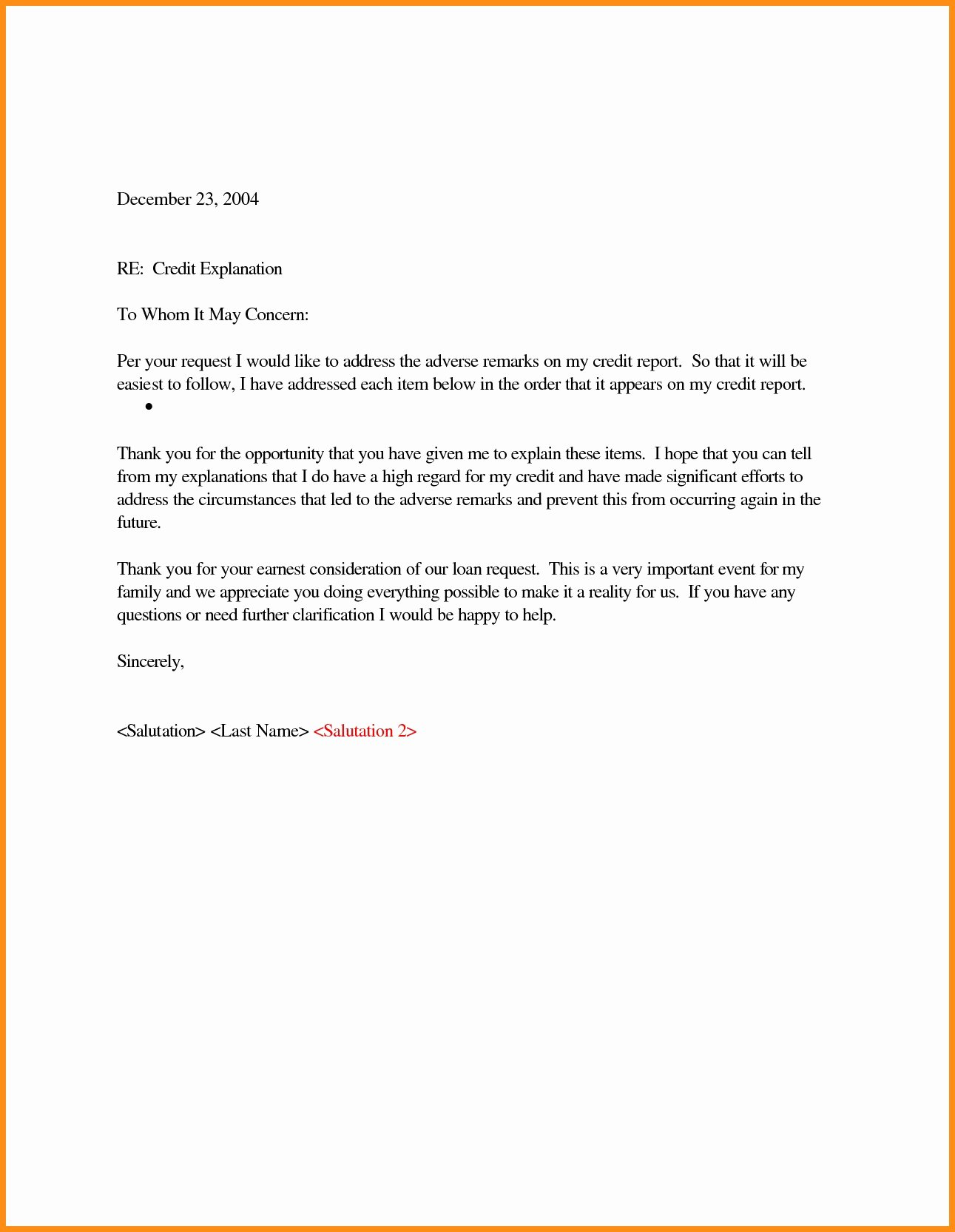 Refinance Letter Template New Cash Out Refinance Letter Explanation Template