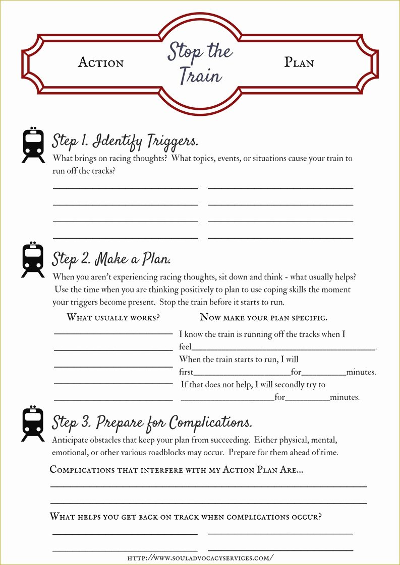 Relapse Prevention Plan Worksheet Template Beautiful Relapse Prevention Plan Worksheet
