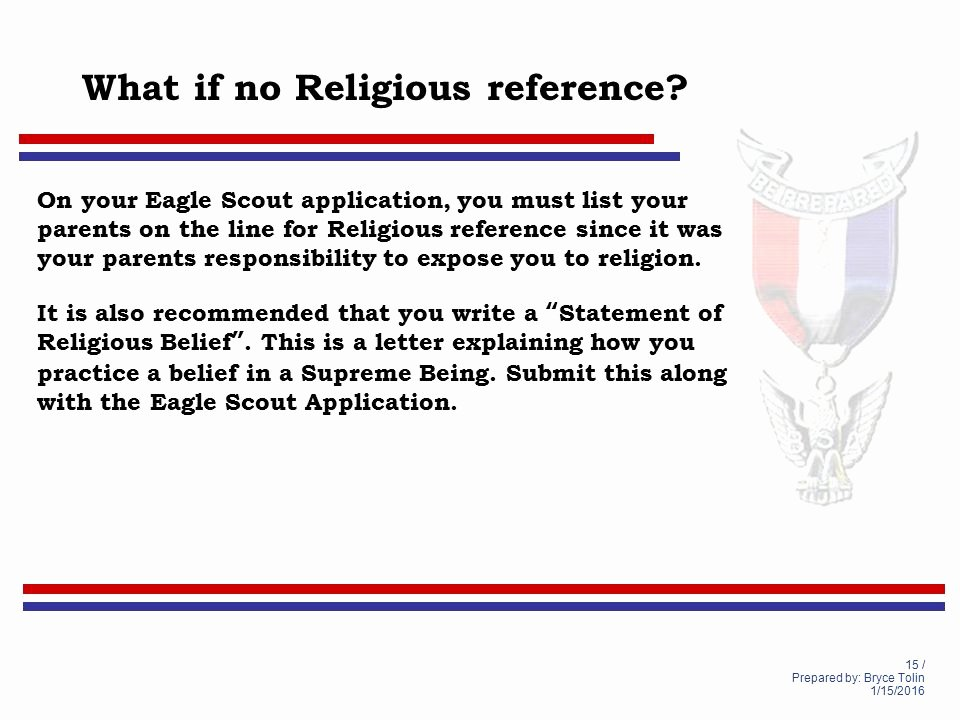 Religious Recommendation Letter Sample Luxury Life to Eagle Seminar Lighthouse District south Florida