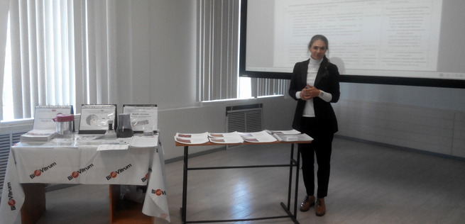 Remel Certificate Of Quality New Biovitrum Held A Seminar for Bacteriologists In Novosibirsk