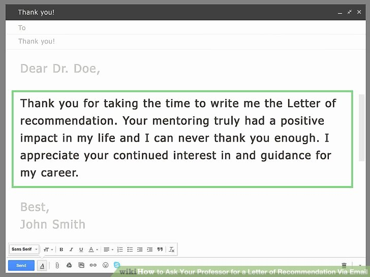 Remind Professor for Recommendation Letter Inspirational How to ask Your Professor for A Letter Of Re Mendation
