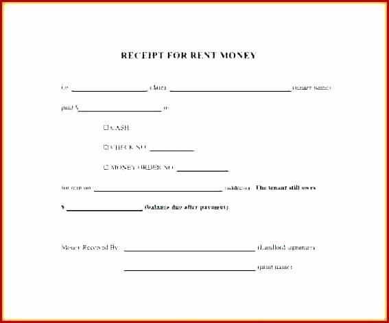 Rent Deposit Receipt Template Best Of Security Deposit Receipt Template Uk