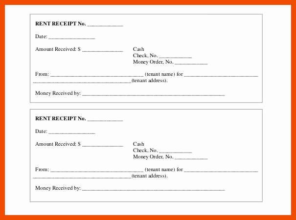 Rent Invoice Template Pdf Fresh 8 9 Rent Receipt Template