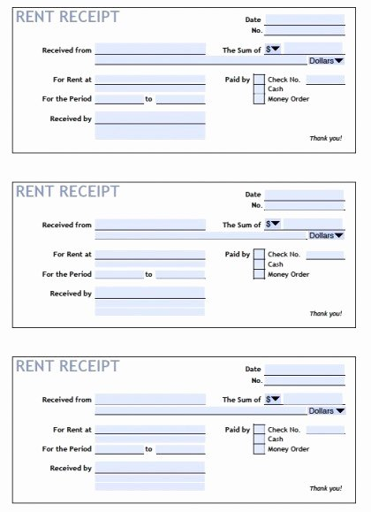 Rent Invoice Template Pdf Fresh Home Rent Receipt