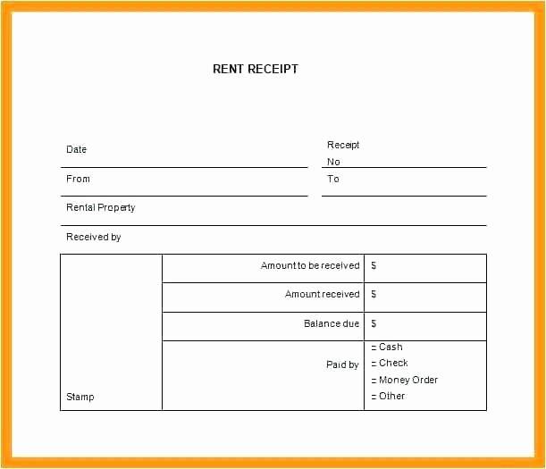 Rent Invoice Template Pdf Luxury Rent Receipt format – Puebladigital