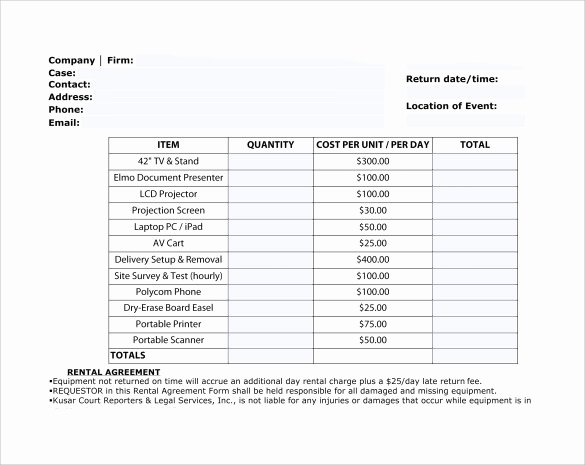 Rent Invoice Template Pdf New 9 Sample Rent Invoice Templates to Download
