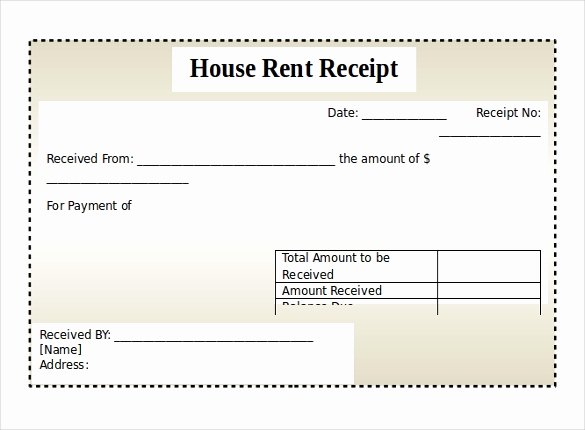 Rent Invoice Template Word New 12 Free Microsoft Word Receipt Templates Download