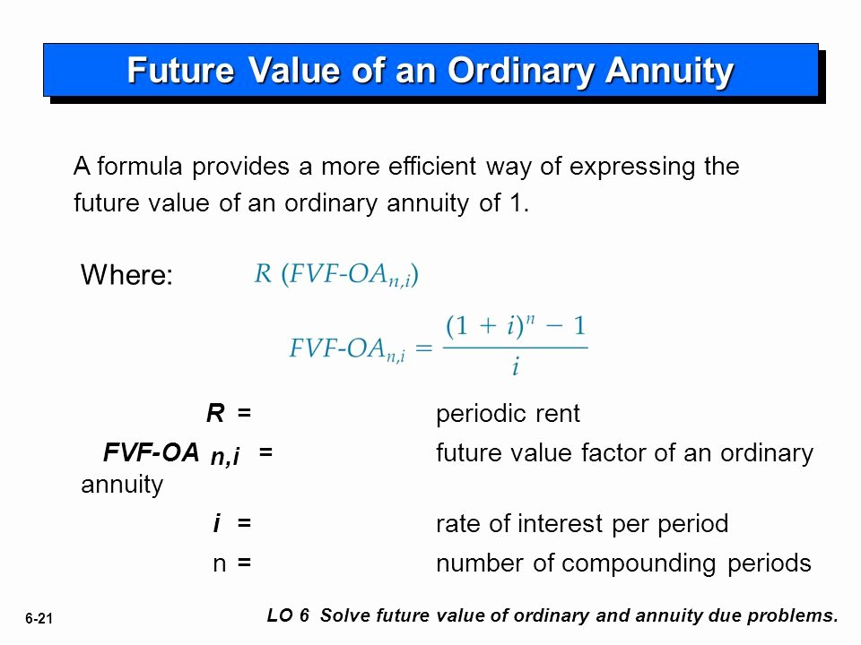 Rent Money Future Download Best Of 6 Accounting and the Time Value Of Money Intermediate