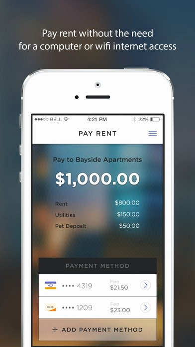 Rent Money Future Download Elegant Rentpayment – Powered by Yapstone™ On the App Store