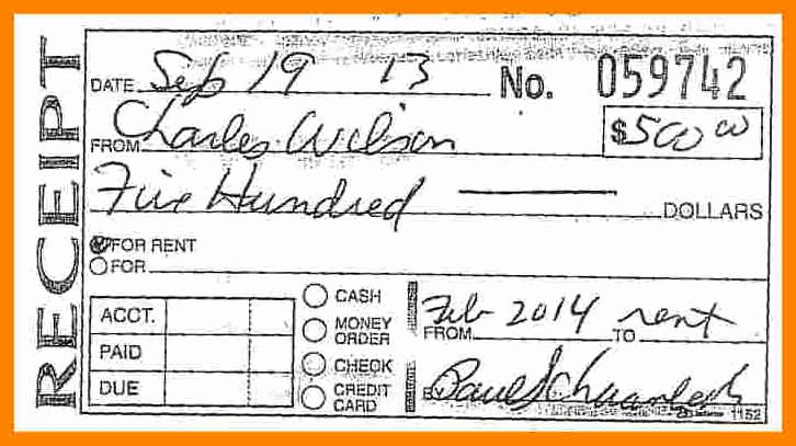 Rent Receipt Filled Out Best Of How to Fill Out A Money Receipt – Free Download – December
