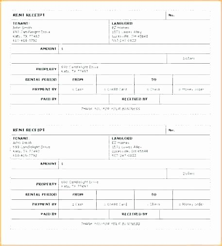 Rent Receipt Filled Out Luxury Bill Book format In Rent Receipt Template Free Invoice to