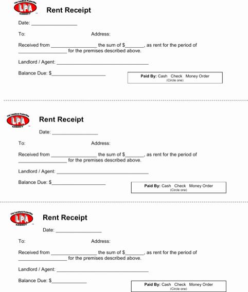 Rent Receipt Template Excel Beautiful 5 Rent Receipt Templates Word Excel Templates