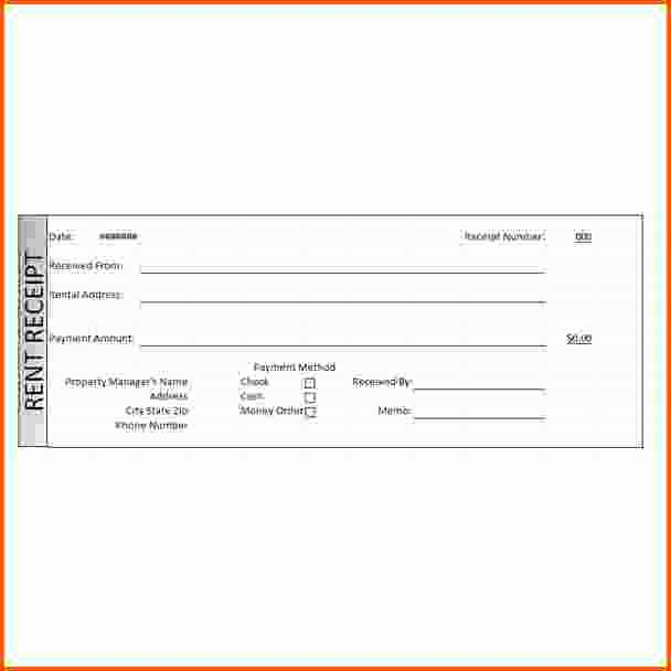 Rent Receipt Template Word Awesome 11 Rent Receipt Word