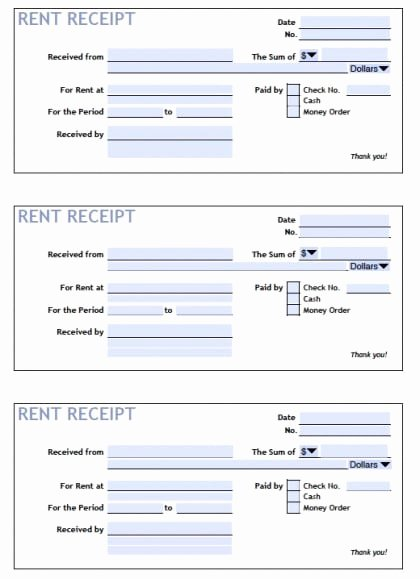 Rent Receipt Template Word Elegant top 5 Samples Rent Receipt Templates Word Templates