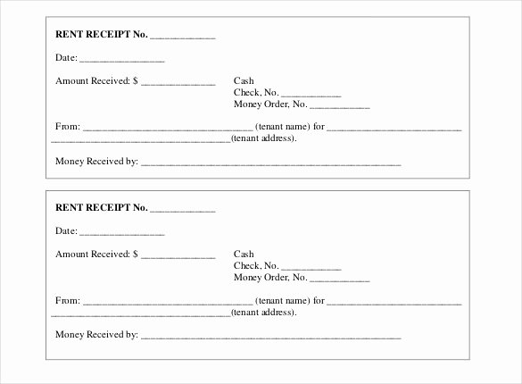 Rental Receipt Template Doc Best Of Free Rent Receipt Template Excel