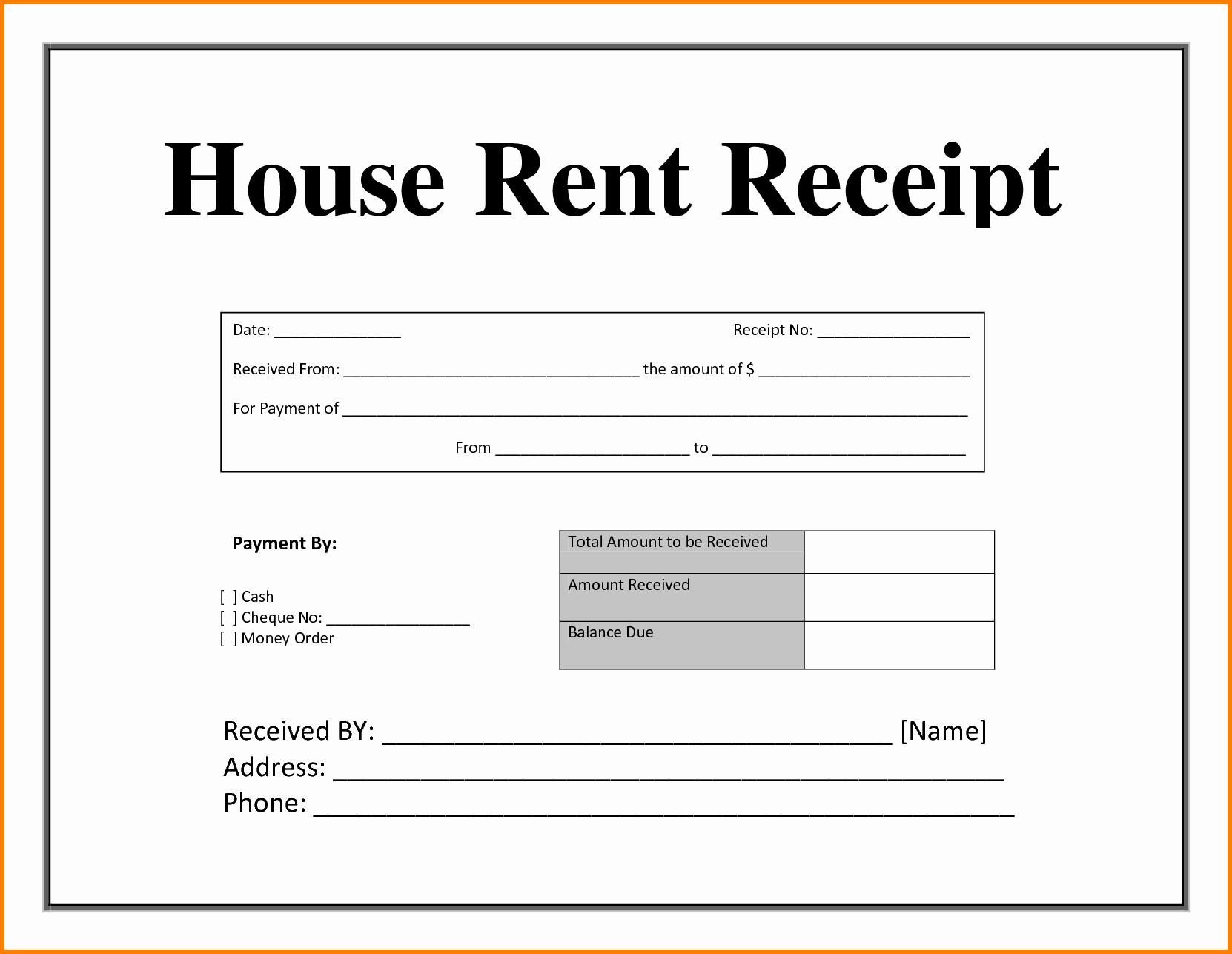 Rental Receipt Template Doc Fresh Rent Receipt Doc Portablegasgrillweber
